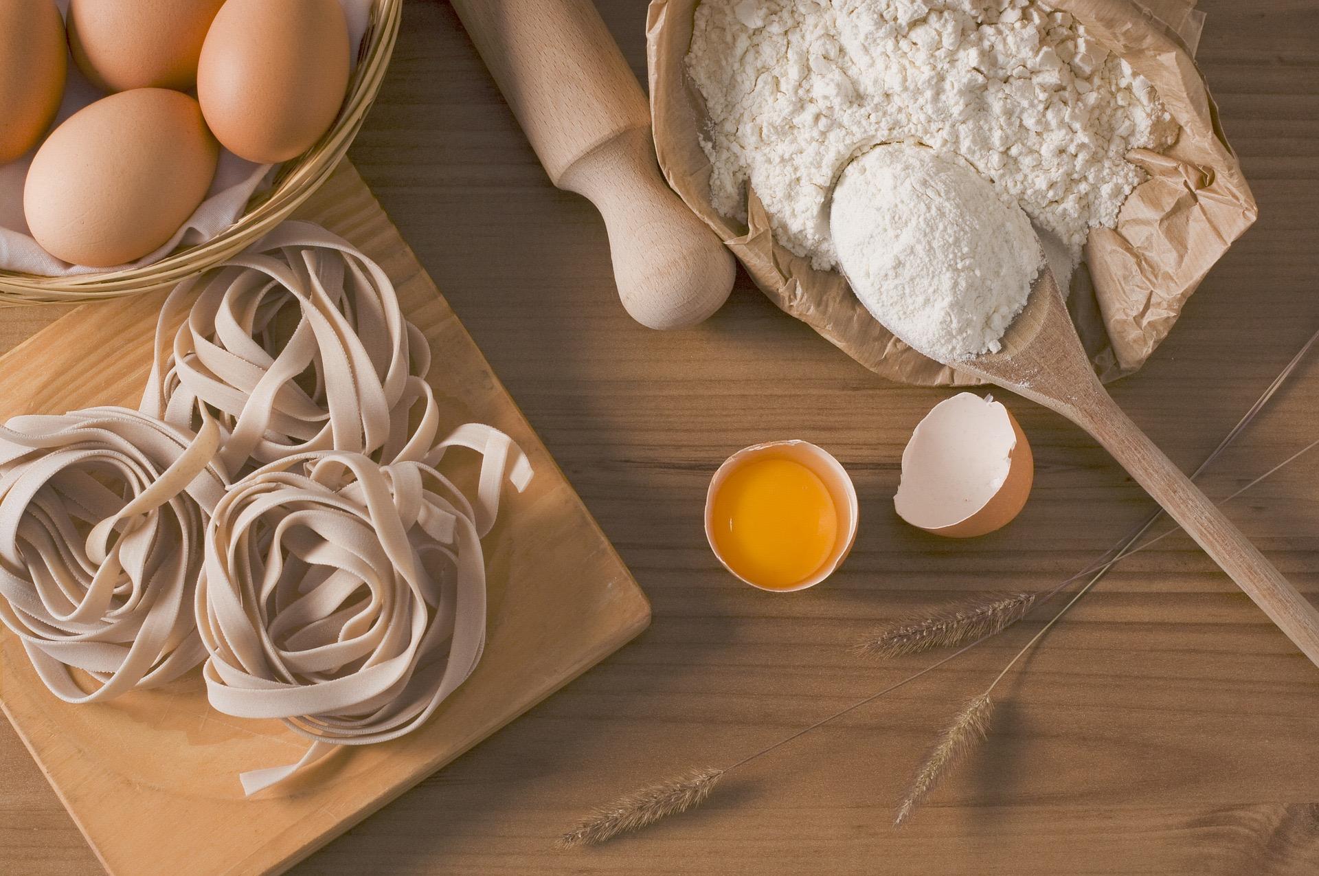 Pasta und gefüllte Teigwaren